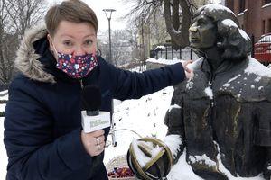 Mieszkańcy Olsztyna składają życzenia Kopernikowi
