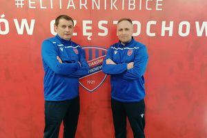 Trenerzy AP Ostróda na stażu trenerskim w Rakowie Częstochowa