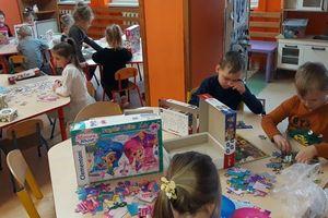Dzień Puzzli w Przedszkolu Miejskim w Nowym Mieście Lubawskim