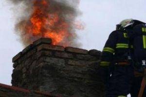 Dużo pożarów sadzy w przewodach kominowych