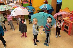 DzieńParasola w Przedszkolu Miejskim w Nowym Mieście Lubawskim