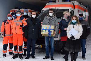 Nowa karetka trafiła do szpitala w Biskupcu