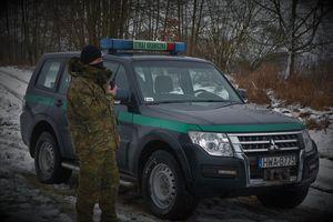 Funkcjonariusze Straży Granicznej pomogli wychłodzonej Niemce.