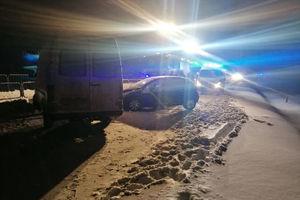 Wypadek na DK51. Dwie osoby ranne