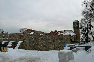 Zamek w Szczytnie coraz lepiej odkopany