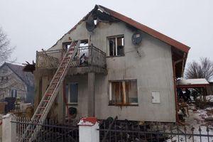 Pożar w Kierwinach. Sześć osób bez dachu nad głową