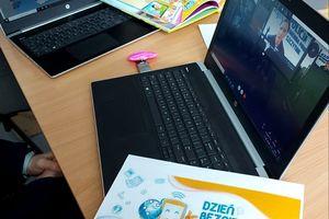 Dzień Bezpiecznego Internetu. Wirtualne spotkanie z przedszkolakami