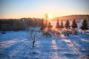 Prenumerata za zdjęcie: wschód słońca w Krawczykach