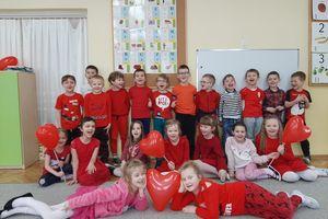 Przedszkolaki świętowały Walentynki
