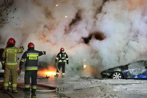 Wracamy do tematu: policjanci szukają świadków pożaru na Jarotach