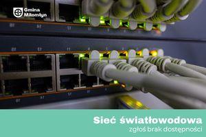 Budowa sieci światłowodowej w Miłomłynie