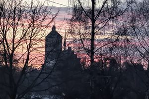 Braniewo: nocna bazylika