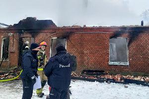 86-latek zginął w pożarze. Okoliczności tragedii wyjaśnia policja