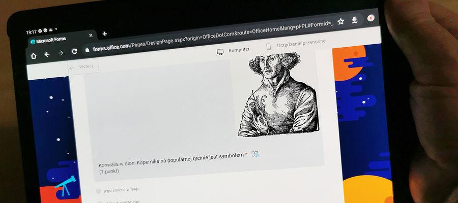 Błyskawiczny internetowy test wiedzy o Mikołaju Koperniku