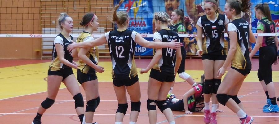 Juniorki Zrywu-Volley Iława