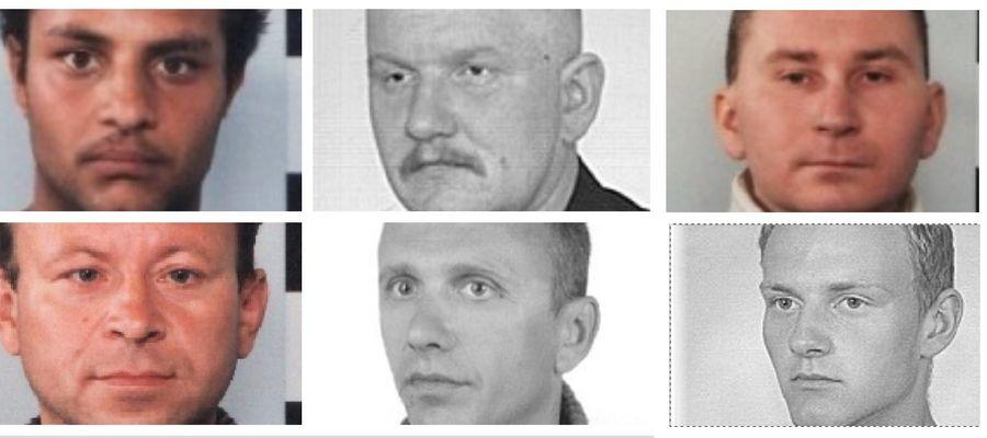 Tych mężczyzn szuka policja [ZDJĘCIA]