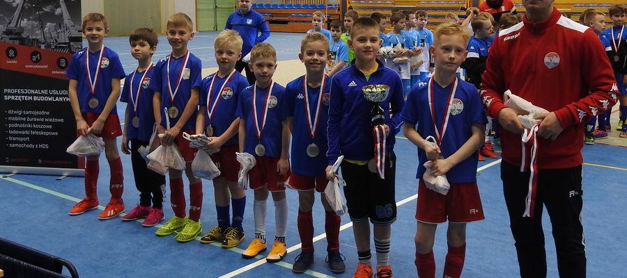 Piłkarze Sokoła Ostróda zajęli drugie miejsce w turnieju zorganizowanym przez AP Ostróda