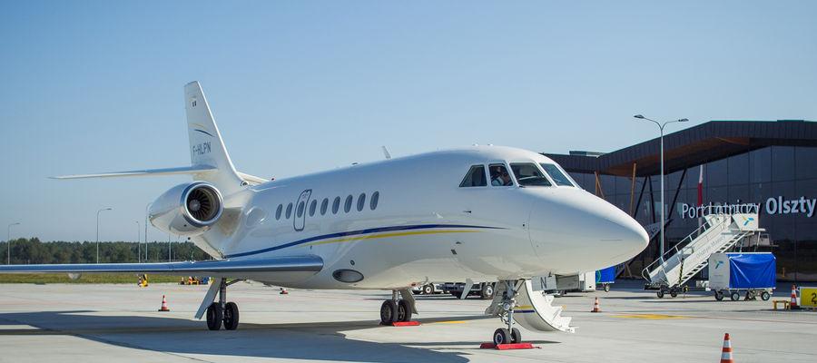 Lotnisko w Szymanach wznawia loty