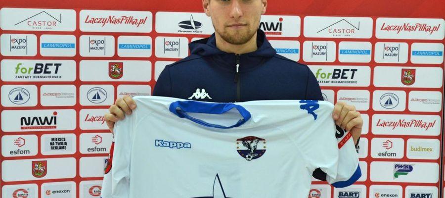 Łukasz Mozler został nowym piłkarzem Sokoła Ostróda