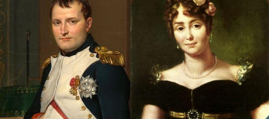 Cesarz Napoleon Bonaparte - obraz z 2012 roku. Maria Walewska - portret pędzla François Gérarda