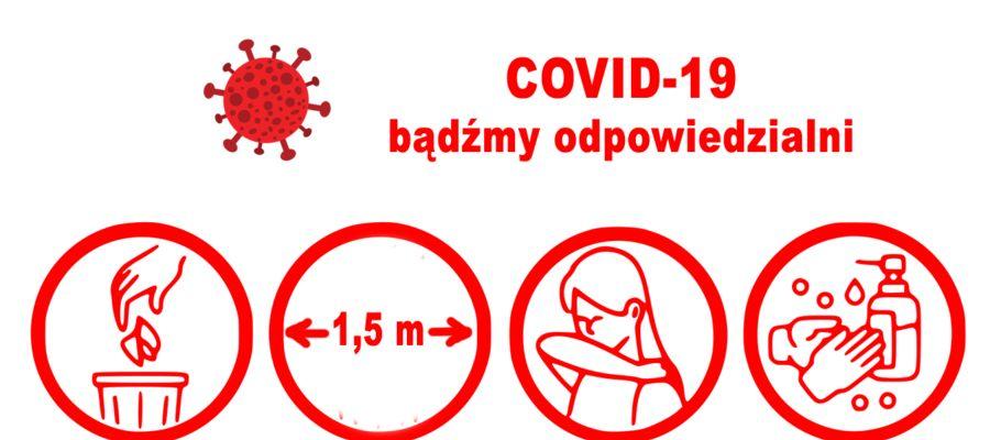 COVID-19 Bądźmy odpowiedzialni.