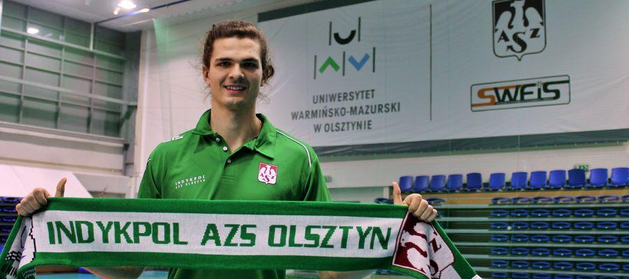 Nikodem Wolański został rozgrywającym Indykpolu AZS Olsztyn