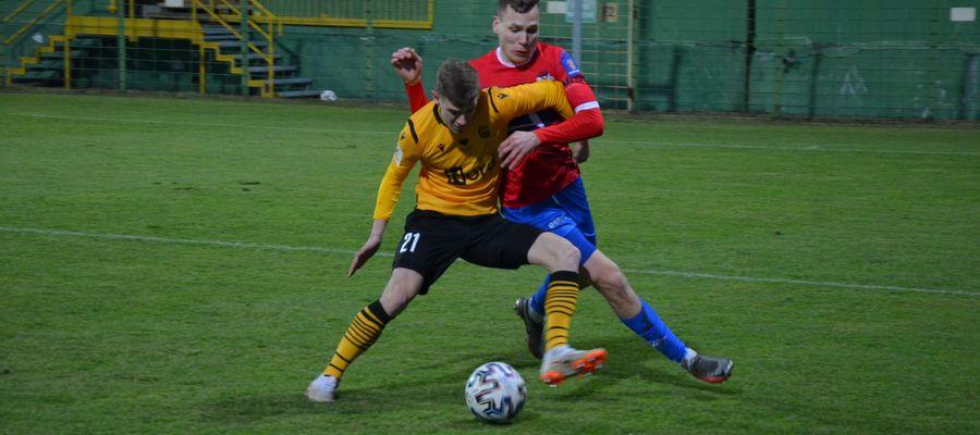 Piłkarze Sokoła Ostróda przegrali mecz z GKS Katowice