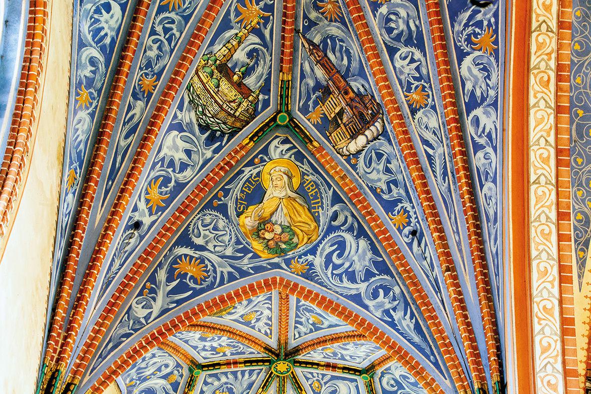 freski kościoła w Brąswałdzie