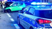 31-letni kierowca Seicento wymusił pierwszeństwo