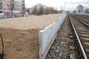 Trwają prace na przystanku Olsztyn-Śródmieście
