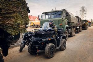 Wojsko na mazurskich drogach... ćwiczenia BullRun