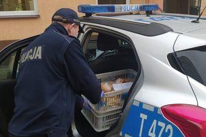 Po kwadransie złodziej pączków był w rękach policji