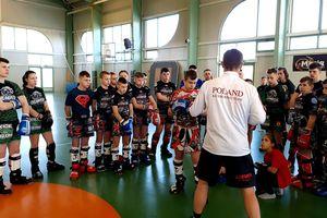 Kickbokserzy trenowali z Mistrzem