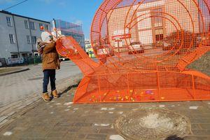 W Lubawie pojawił się ślimak na nakrętki