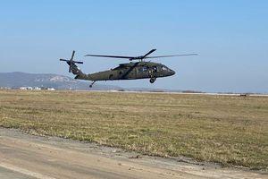 Śmigłowce Black Hawk przelecą nad Mazurami