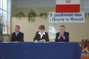 Regionalne badania dziejów naszego miasta i Mazur w ZS 5 w Ełku