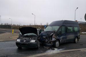 Wypadek na obwodnicy Olecka [AKTUALIZACJA]