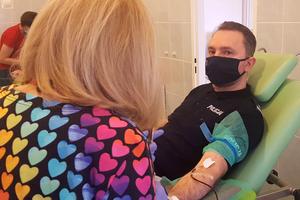 Prawie 14 litrów krwi zebrano podczas akcji KPP Iława