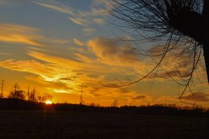Gazeta za zdjęcie: Mazurski zachód słońca