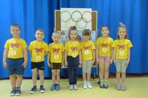 Dzień Olimpijczyka w Przedszkolu Miejskim