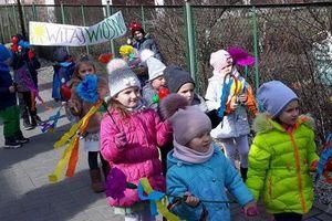 Nowomiejskie przedszkolaki powitały wiosnę