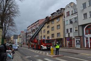 Wóz z 40-metrową drabiną trafił do ostródzkiej straży pożarnej