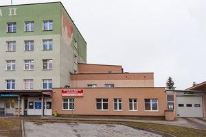 Ogród Zimowy w bartoszyckim Szpitalu.