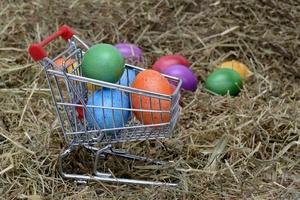 Nie takie kolorowe te wielkanocne jaja...