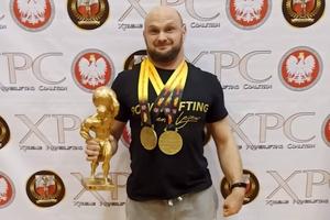Paweł Gębusiak znów obwieszony medalami mistrzostw Europy!