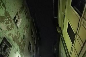 Olsztyn: nocne Stare Miasto