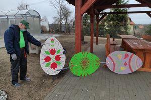 Wielkanocne jaja ozdobiły Wilkasy