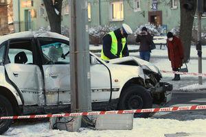 Na ul. Sybiraków w Olsztynie doszło do zderzenia