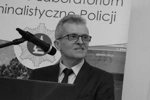 Zmarł profesor UWM Jarosław Moszczyński. Był specjalistą z dziedziny daktyloskopii