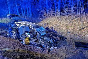Tragiczny wypadek na DK 57. Nie żyje 20-letni mężczyzna